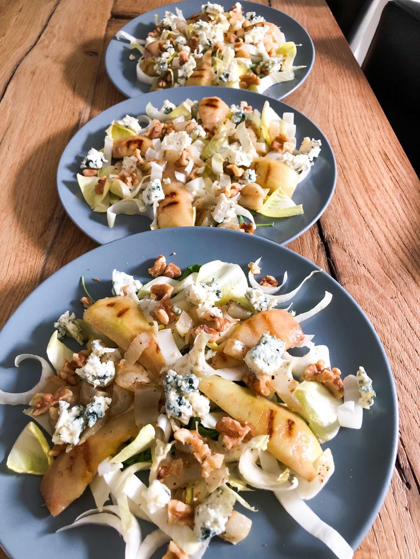 Witlof salade met peer
