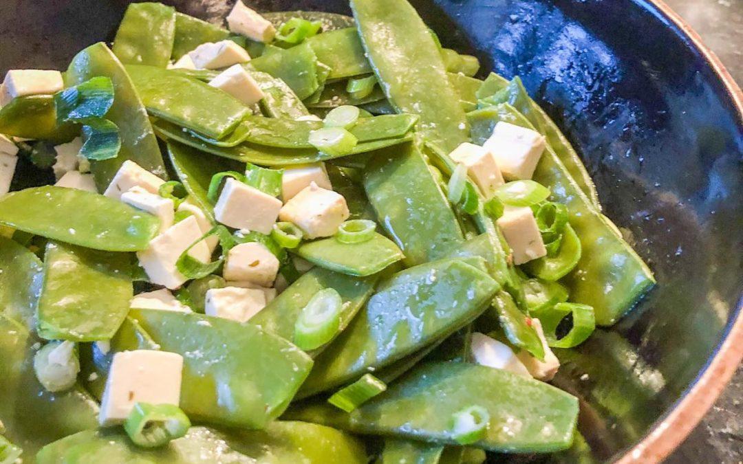 Peultjes salade met fêta