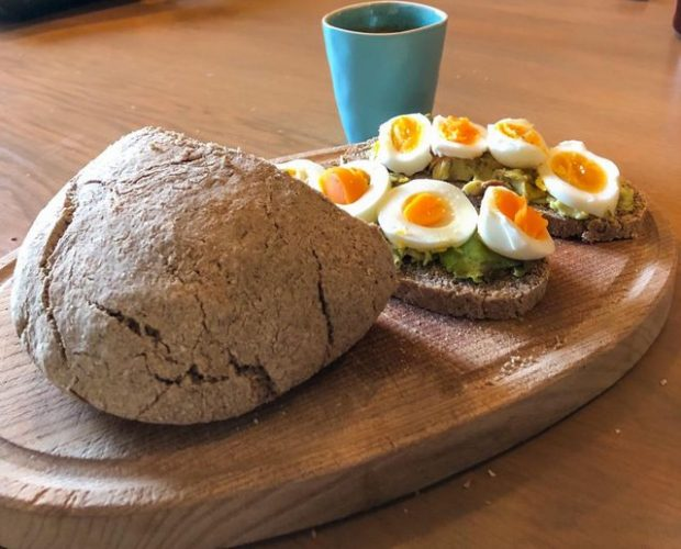 Boekweit, havermout brood